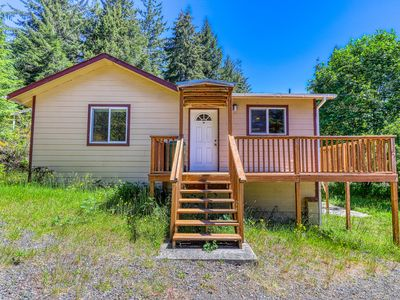 Photo for Secluded & comfortable dog-friendly home w/ a deck plus ATV/boat parking!