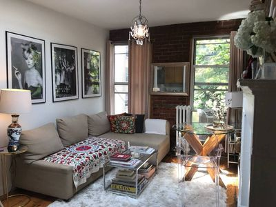 Photo for West Village 1 br apartment w skylight&fireplace