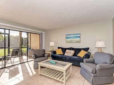 Photo for Sit back relax 412 -1st floor Bayside Canal View, Free Wi-Fi,and Cable, Central A/C and Beach Access