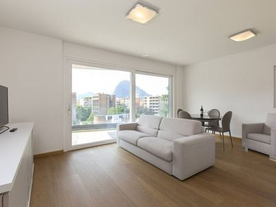 Photo for Bright Two-Room Apartment near to the Center of Lugano - ROGGIA 6