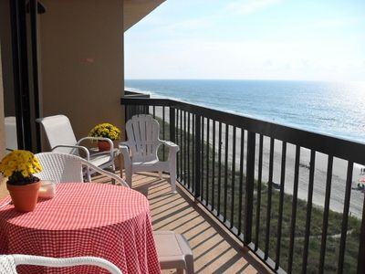 Photo for Oceanfront - Beatiful Double Balcony View!