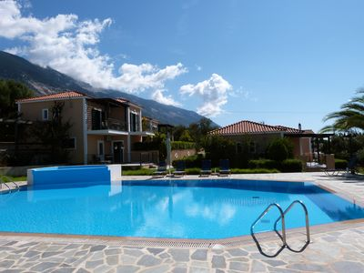 Photo for Oneira Villas 4 - Two Bedroom Bungalow with shared Pool and Sea Views
