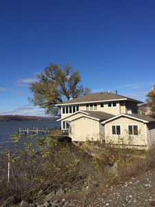 Photo for Stunning lakefront home 5 minutes from Cornell University