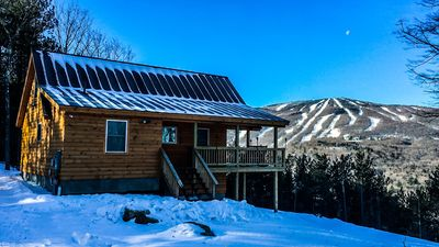 New Mountain Top Cabin With Incredible Okemo Views And Sunsets