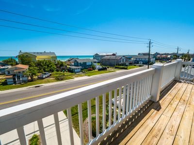Photo for Kureview Townhomes 333: 4 BR / 3.5 BA town house in Kure Beach, Sleeps 8