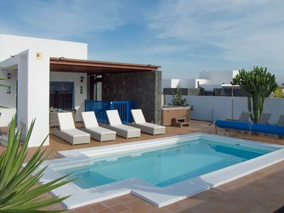 Photo for Villa Carmen Heated Private Swimming Pool, Air Conditioning and Game Room all in