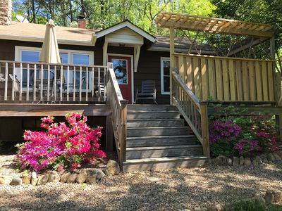 Photo for Black Mtn.Hideaway: Romantic Mtn.Views, Hot Tub, & Pet Friendly!