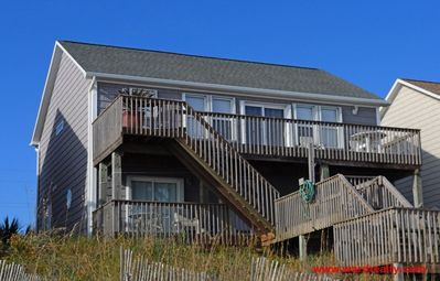 Photo for 5 BR oceanfront home with elevator and spectacular views from decks - C' Turtle
