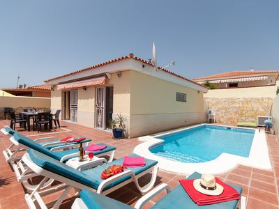 Photo for Beautiful 2 Bedroom Villa. Private Heated Pool. Popular Location. |SUN6833088