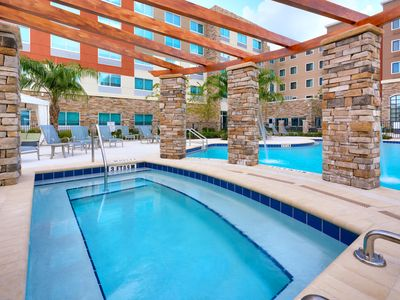 Photo for Close to U of Florida. Free Breakfast. Outdoor Pool & Hot Tub. Great for Groups!