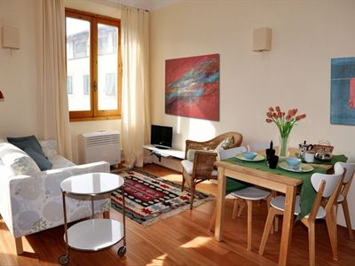 Photo for Great 2-Room Flat 2 Blocks from the Duomo!