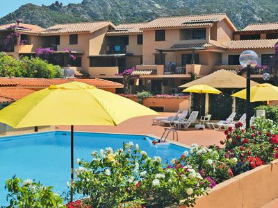 Photo for One bedroom Apartment, sleeps 4 in Porto Cervo with Air Con and WiFi