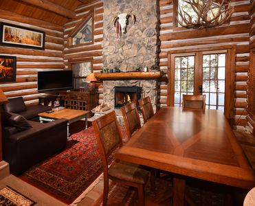 Photo for Vail Log Cabin w/ Beautiful Creek Views, Free Town Shuttle and Slope Access