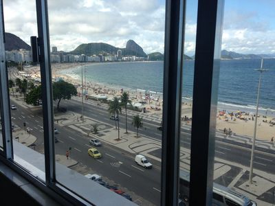 Photo for APARTMENT SEA VIEW COPACABANA