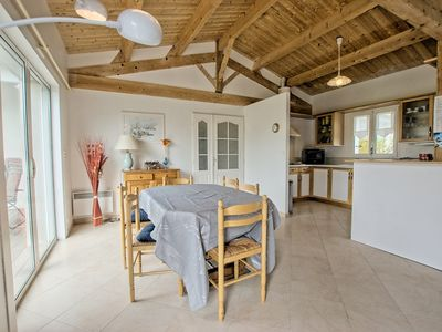 Photo for Holiday home with garden, close to the beach, for 6 people