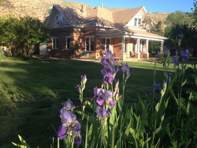 Photo for GATHER FAMILY & FRIENDS IN SPACIOUS & COZY HISTORIC HOME NEAR ZION & GOOSEBERRY