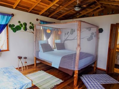 Photo for Beach Side! Driftwood Bungalow at Leaning Palm Resort in Belize