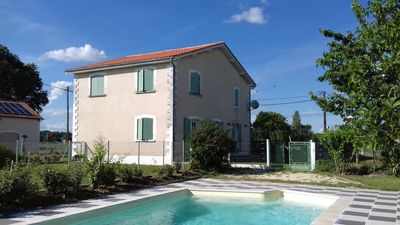 Photo for Aubeterre - Laprade, comfortable cottage-pool open all year.