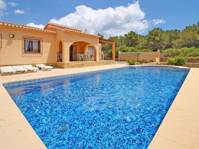 Photo for 3 bedroom Villa, sleeps 7 with Air Con, FREE WiFi and Walk to Beach & Shops