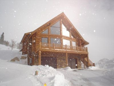 We love our mountain log home. Quiet and secluded. Once there, we never leave.