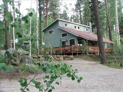Photo for The Alpaca Barnhaus in the Jemez Mountains-Quiet & Comfortable at 8700'