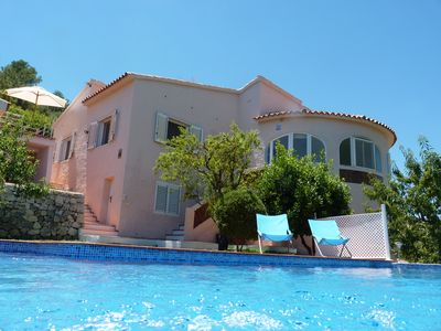 Photo for Villa With Private Pool And Stunning Sea and Orange Grove Views