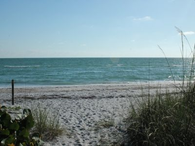 Photo for Gulf Front 2BR/2BA in gated community with pool and tennis courts!  Four Seas, #2112, Gulf Front Palm Island