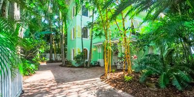 Photo for Luxury Beach Front Home!  Beautiful views, private heated pool with waterfall, porches on all levels!