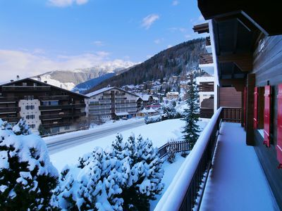 Photo for Catered chalet up to 16, next to ski lifts, Nendaz/Verbier 4 valley - hot tub