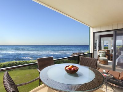 Photo for Makahuena #3101 Ekolu Building: Spacious, Oceanfront Gem W/ AC in Bedrooms!