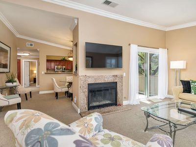 Photo for Monarch Beach Condo at Ritz Pointe - Vaulted Ceilings - Air Conditioned! Walk to Salt Creek Beach!