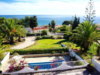 Photo for CHARMING VILLA WITH GREAT SEA VIEWS AND PRIVATE POOL AT SALEMA BEACH
