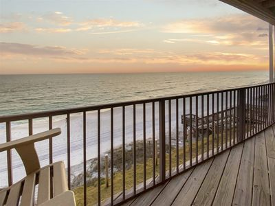 Photo for GULF FRONT and Renovated - Beach Chairs* - Endless Gulf Views - Blue Mountain Villas 4A