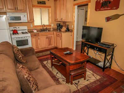 Photo for Country house 1.2 km from the center of Big Bear Lake with Parking, Internet (983485)