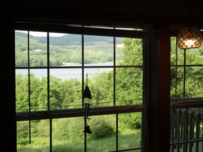 Photo for The road less travelled. Rural pet friendly home with lake view and office.