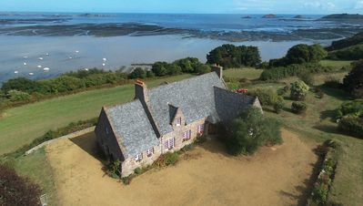 Photo for Stone house with sea view, 8 people, fully equipped