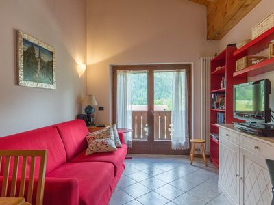Photo for Three-room apartment with a large balcony and great views - Parco Adamello Brenta