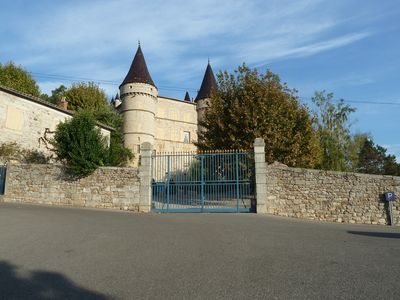 Photo for Unobstructed view of the Chassezac Valley and Chambonas Castle