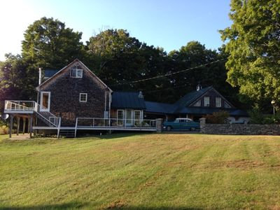 Photo for Large Secluded Vermont Rental House With Stunning Views.