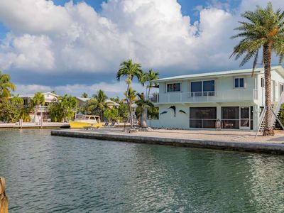 Photo for Little Torch Key Waterfront Retreat, Open Water Views, Boat Dockage & Minutes to Fantastic Fishing