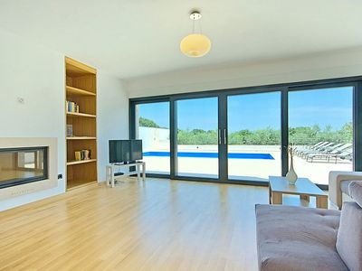 Modern villa with private pool jacuzzi homeaway valtura