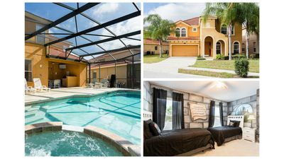 Photo for Amazing Rental w/ Saltwater pool/spa in Gated Resort minutes from WDW FREE WIFI