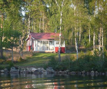 Photo for Beautiful location with little house on the bay