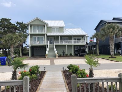 Photo for The Best! Ocean Front and Canal Front, Big Pool with Hot Tub ! Booking for 2019