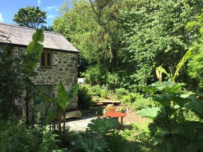 Photo for Secluded woodland cottage, close to SW Coast Path