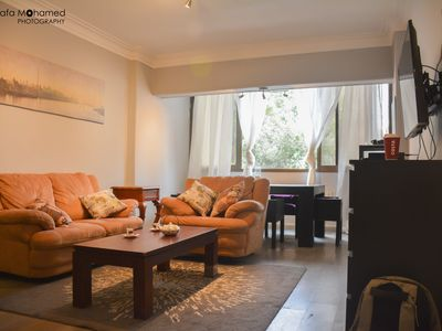 Photo for Cozy modern apartment in the heart of Maadi, Cairo