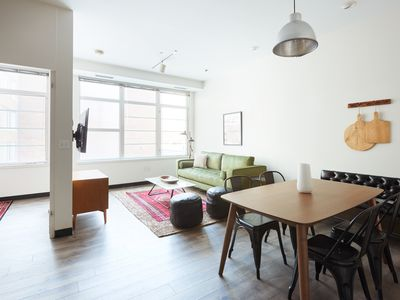 Photo for Airy 3BR in South End by Sonder