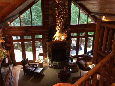 Photo for Luxurious Lake House, Minutes to Skiing & Golf.