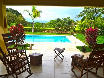 Photo for Beautiful And Peaceful Setting Overlooking Mountain Views And Amazing Sunsets
