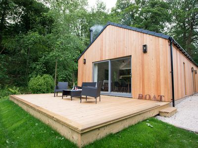 Photo for The Boathouse at Riding Mill, a contemporary 2 bedoom holiday cottage.